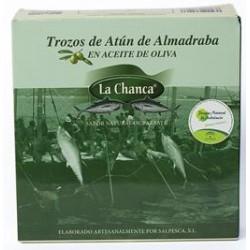 ATUN DE ALMADRABA TROZOS 550 G