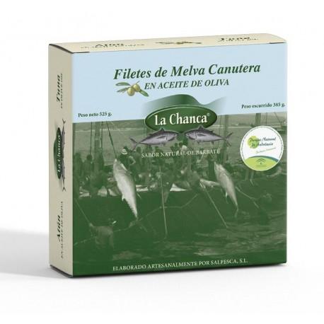 MELVA CANUTERA EN ACEITE DE OLIVA - 550